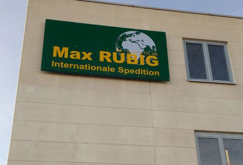 Lager von Max Rübig Internationale Spedition