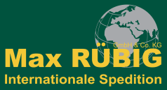 Logo Max Rübig Internationale Spedition